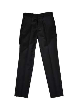 Upper Hutt College Ladies Flat Front Pant Black