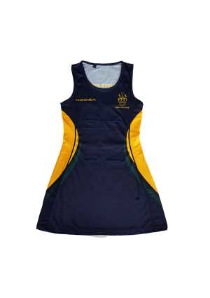Upper Hutt College Netball Dress Navy/Green