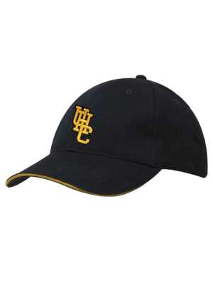Upper Hutt College Cap Navy/Gold